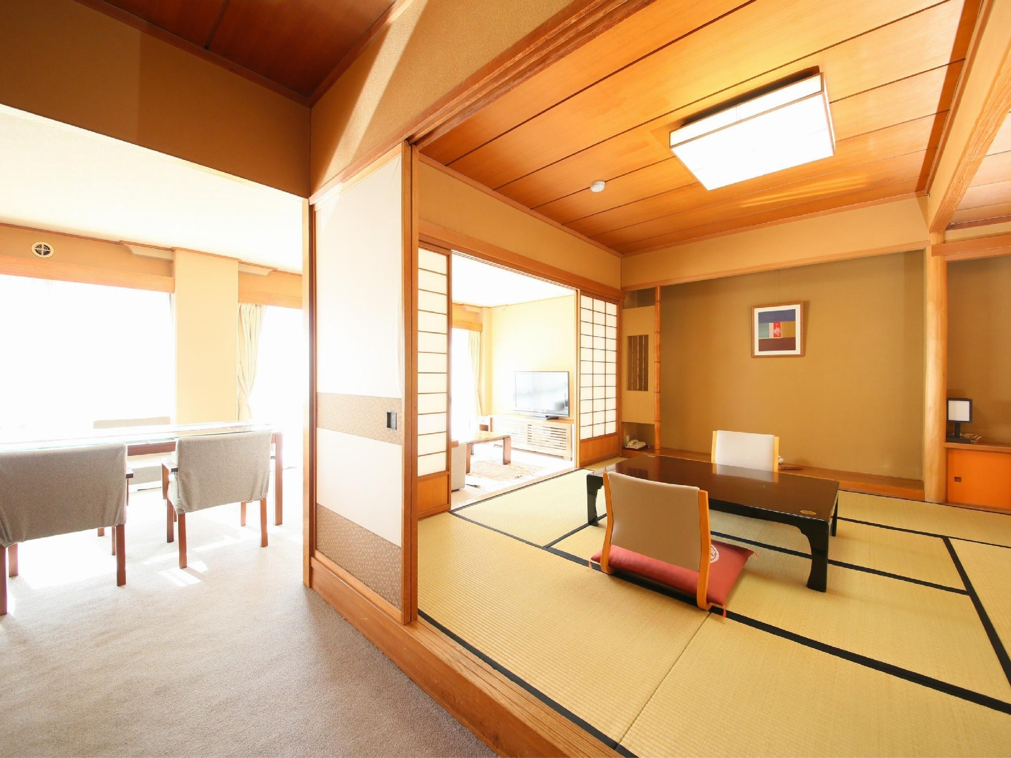 本馆 和式房+客厅 (Japanese-style Room with Living Room (Main Building))