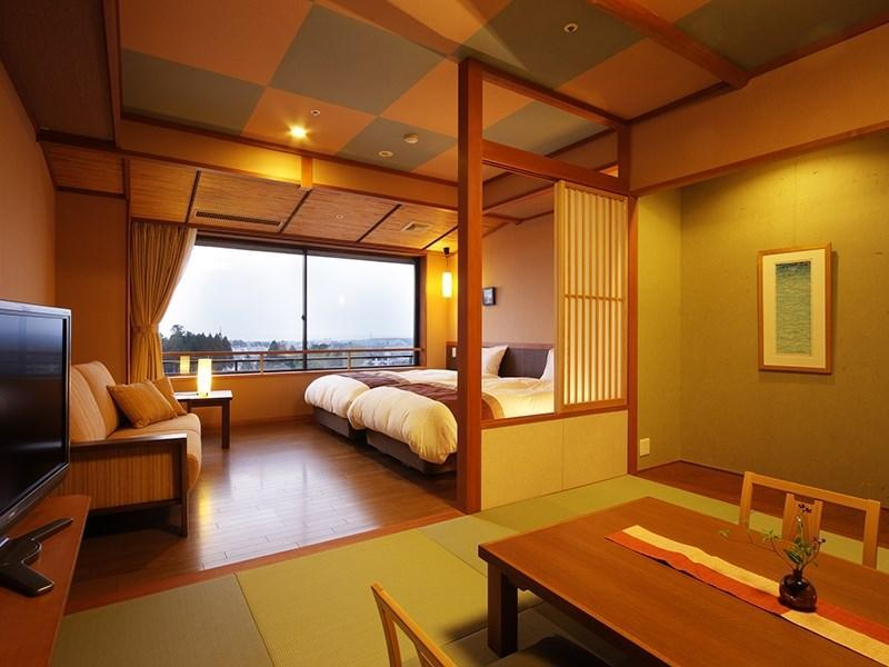 Japanese/Western-style Room (Bettei Mine-no-Kai) *Has rainfall showerhead