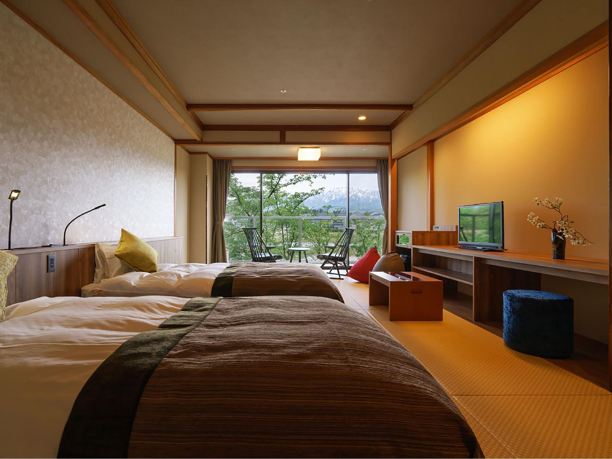 Japanese-style Room with Bed(s) (Bettei Mine-no-Kai) *Has bath