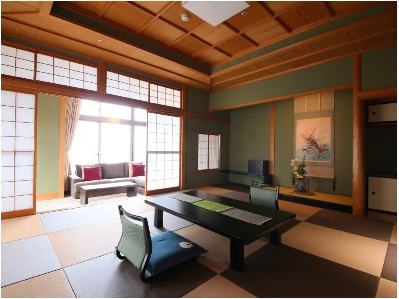 华之栋 特别房(灯和洋式房) (Special Japanese/Western-style Room (Akari Type, Hana-no-To Wing))