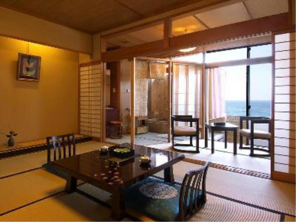 Japanese Style Room with Open-Air Bath - Guestroom Wajima Onsen Notonosho
