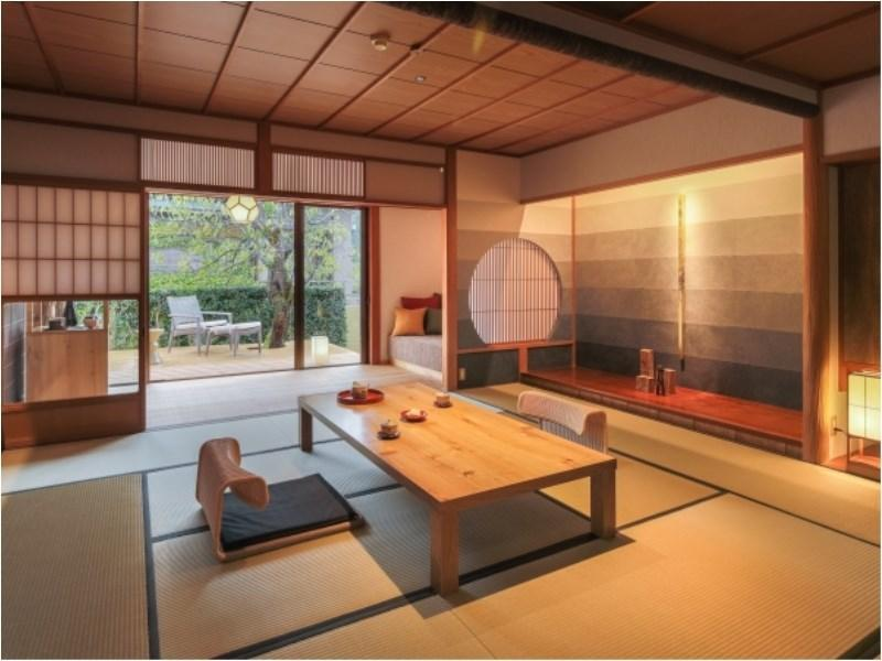 Japanese-style Room with Open-air Hot Spring Bath (Nadeshiko Type)