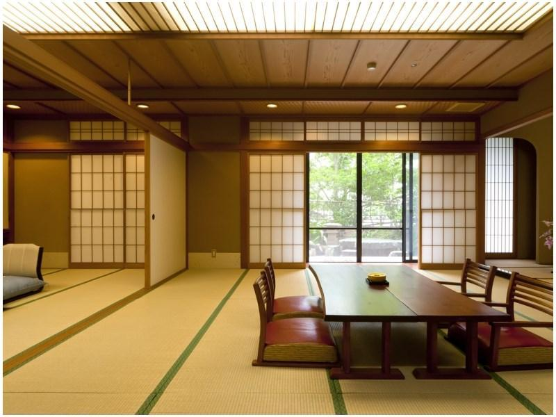 Special Japanese-style Room with Open-air Bath & Sauna (Kissho-tei Wing)