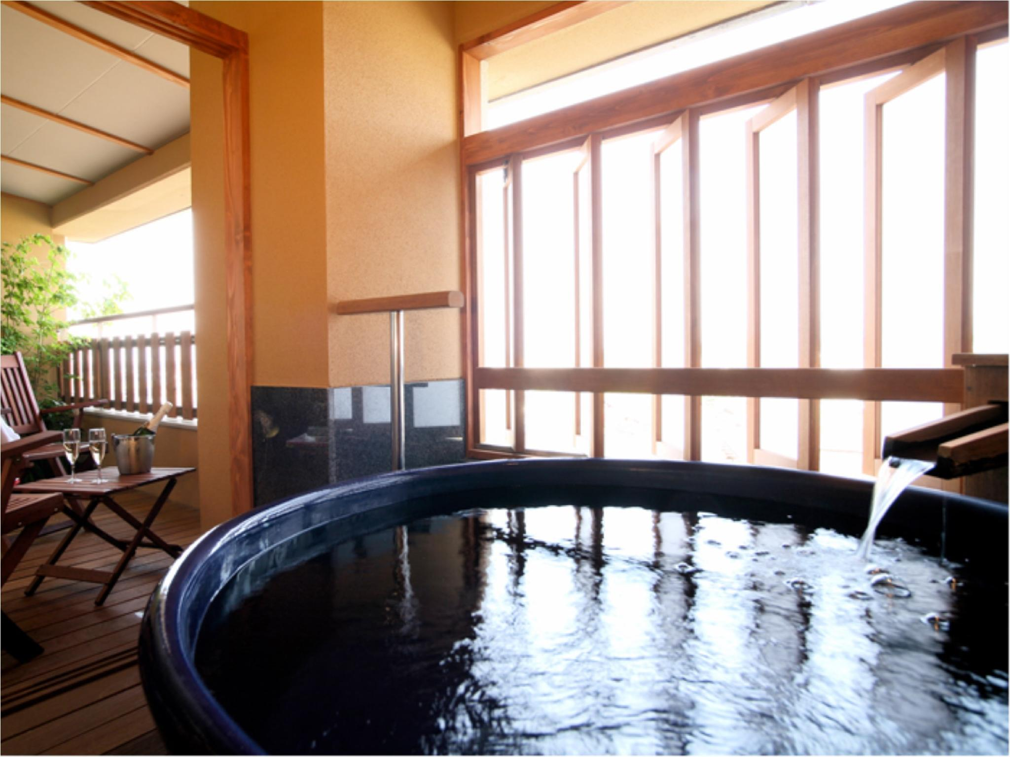 星の棟 露天風呂付スイート和洋室 和ベッド2台 (Japanese/Western-style Suite with Open-air Bath (2 Japanese Beds, Hoshi-no-To Wing))