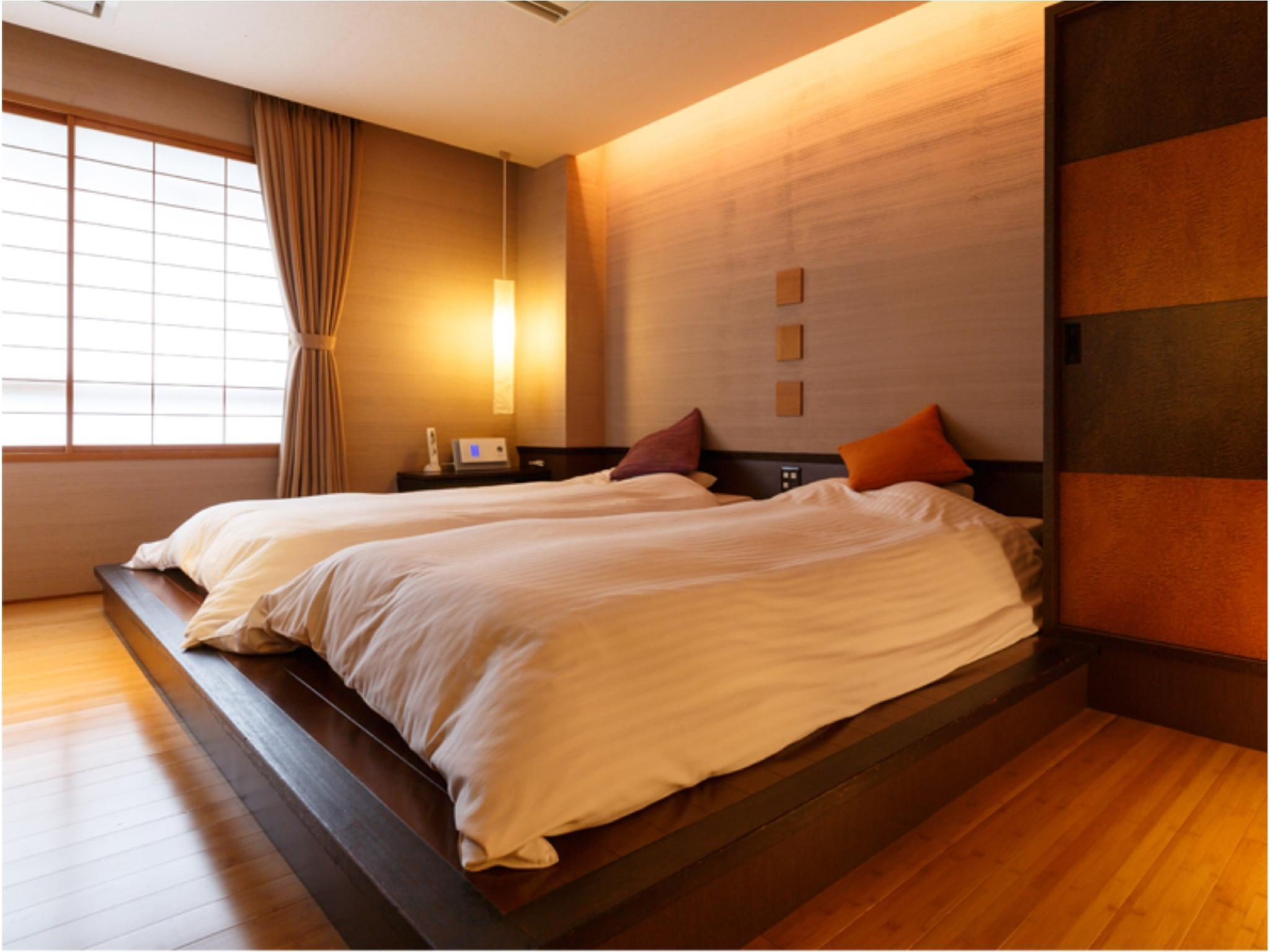 【風の棟 Aタイプ】デラックス 和洋室 (Deluxe Japanese/Western-style Room with Massage Chair (2 Japanese Beds, Kaze-no-To Wing))