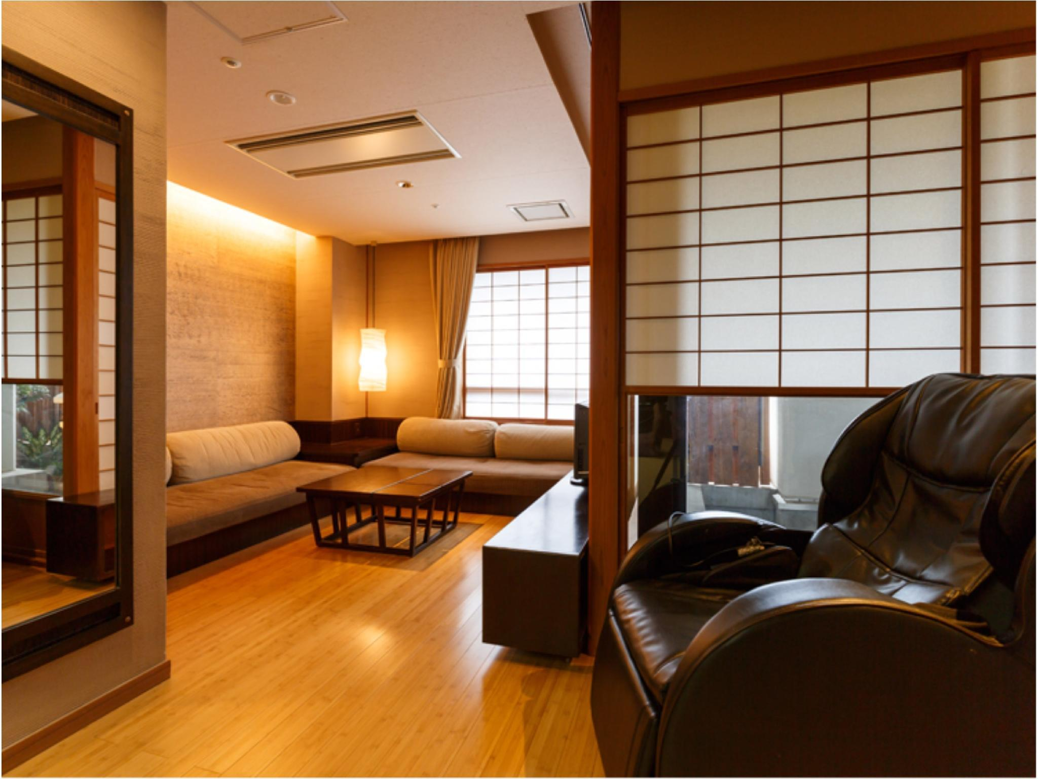 【風の棟 Aタイプ】デラックス 和室 (Deluxe Japanese-style Room with Massage Chair (Kaze-no-To Wing))