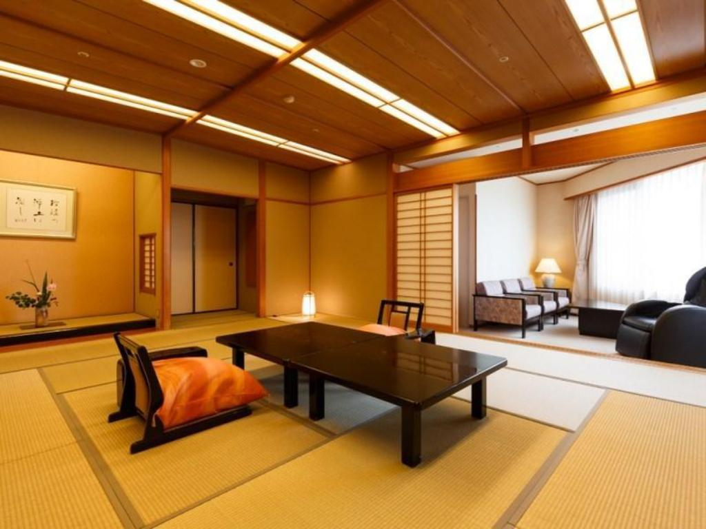 Japanese-style Suite with Open-air Bath (Type B, Hoshi-no-To Wing) - Guestroom
