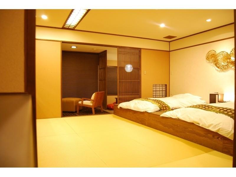 다다미 객실 (Standard Japanese-style Room (2 Japanese Beds))