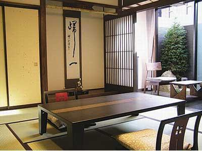 Japanese-style Room with Semi Open-air Bath (Yubokuan Type)