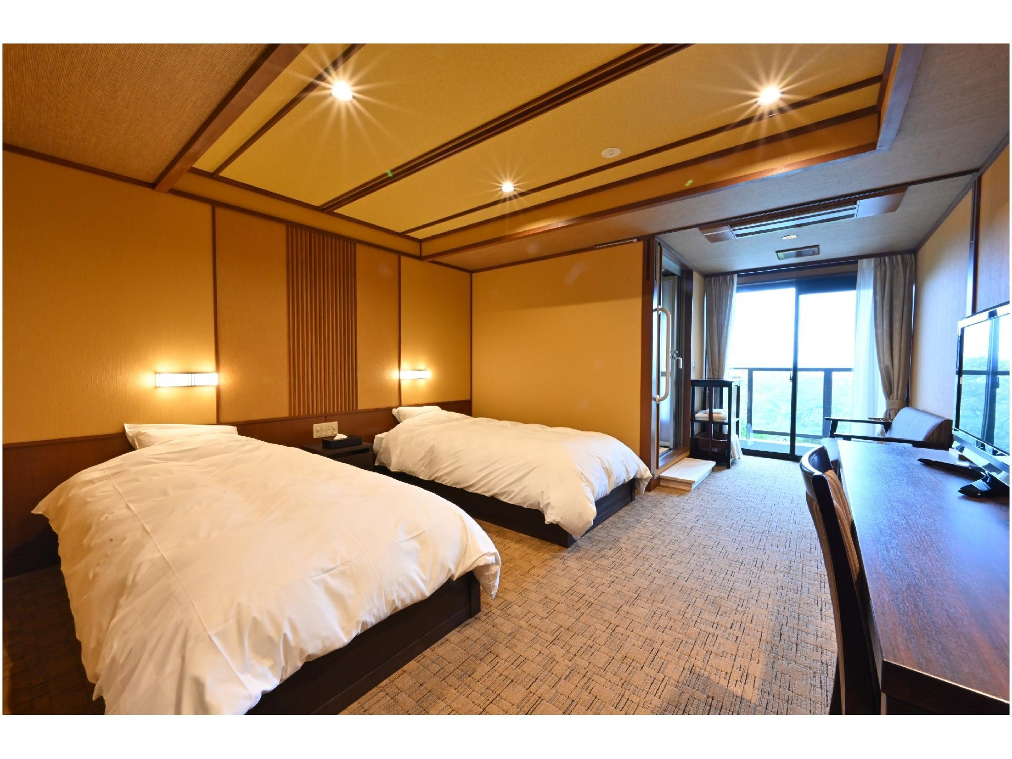 通用雙人雙床房※2019年10月起禁菸 (Universal Twin Room *Non-smoking from Oct. 2019)