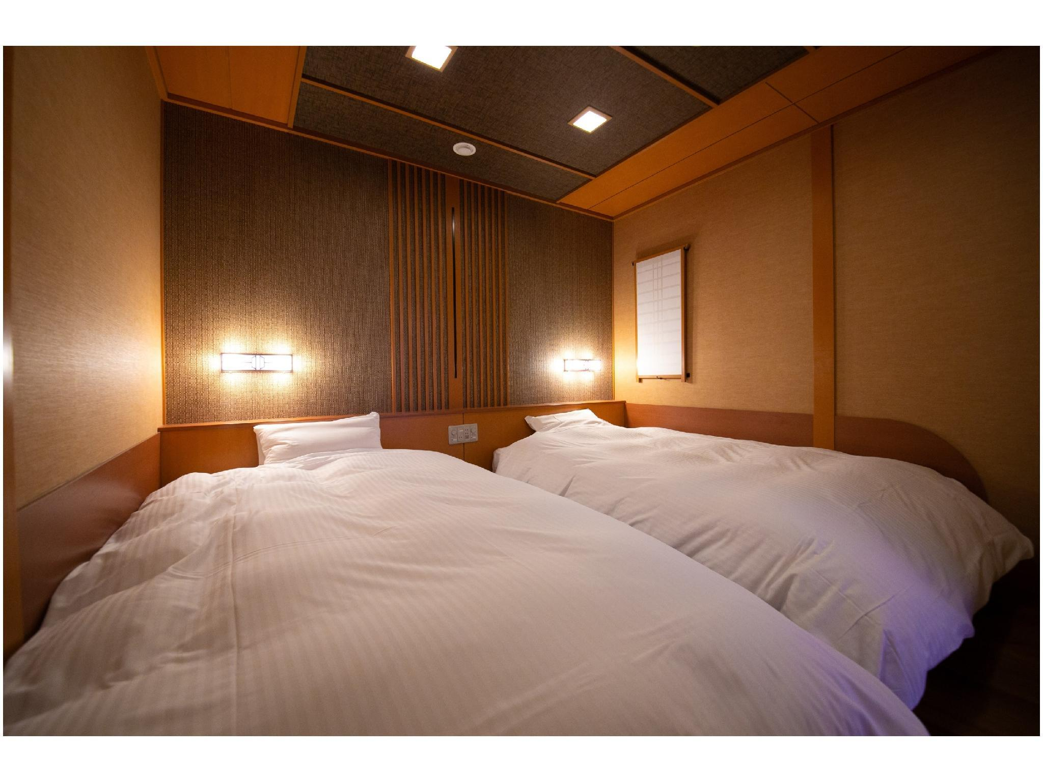 和洋式房※2019年10月新改裝 (Japanese/Western-style Room *Refurbished Oct. 2019)