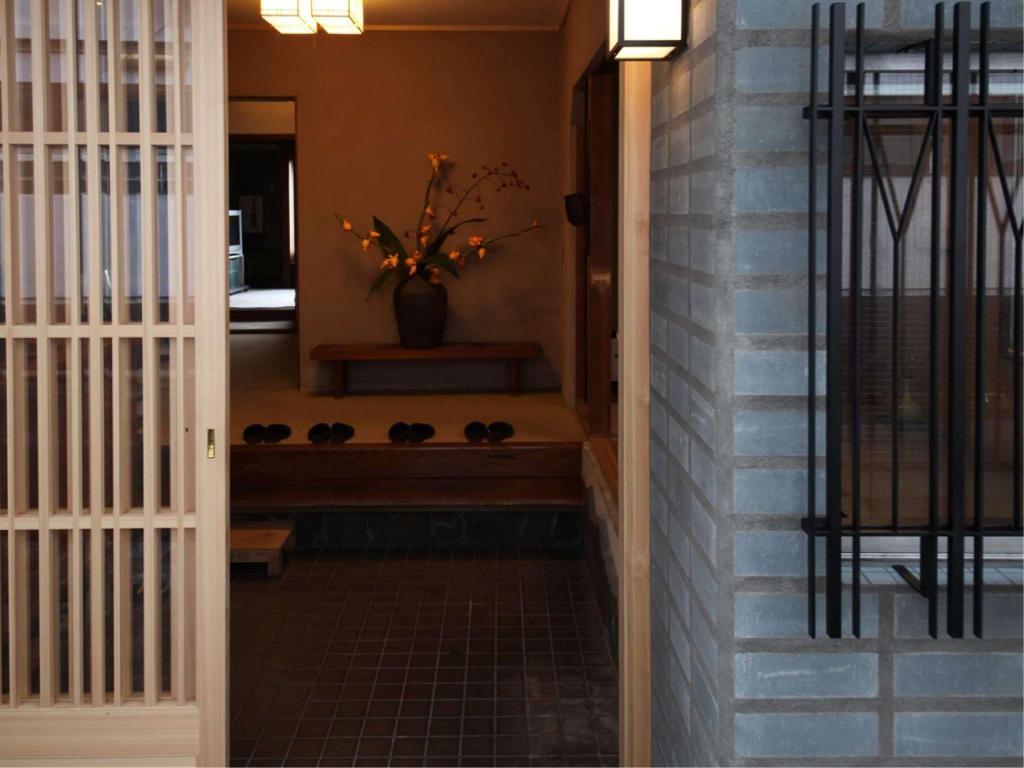 Lobby Shiroyama Inn in Ikoma City