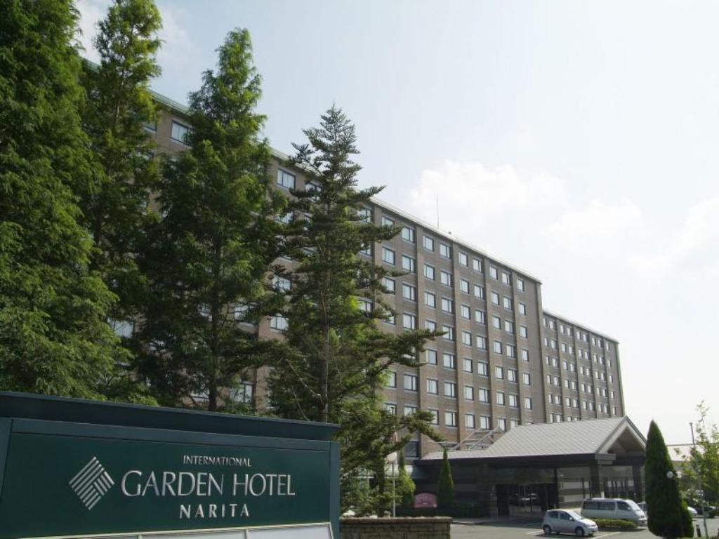 Exterior view International Garden Hotel Narita