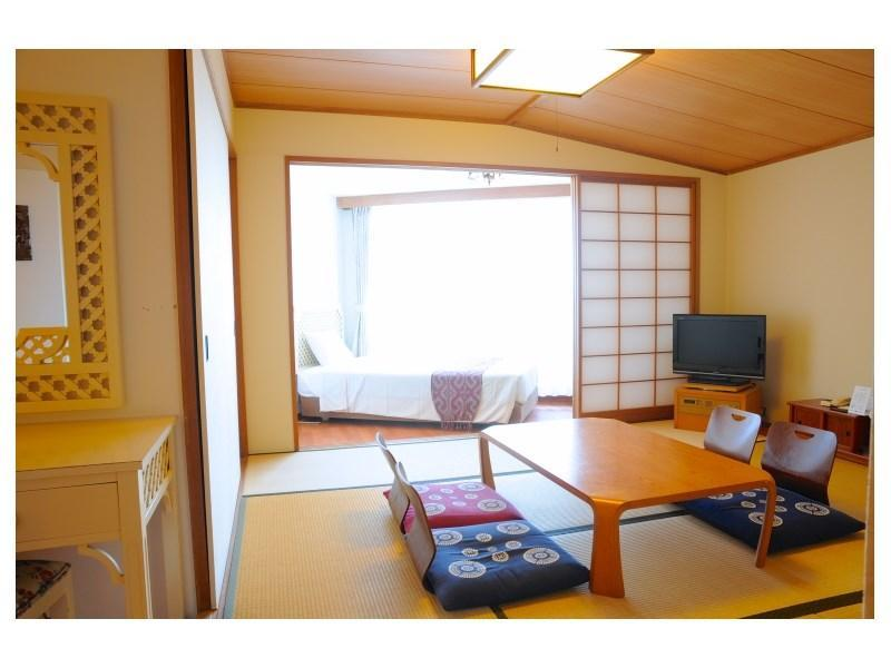 다다미 침대 객실 (Japanese/Western-style Room (2 Beds, Hotel Building))