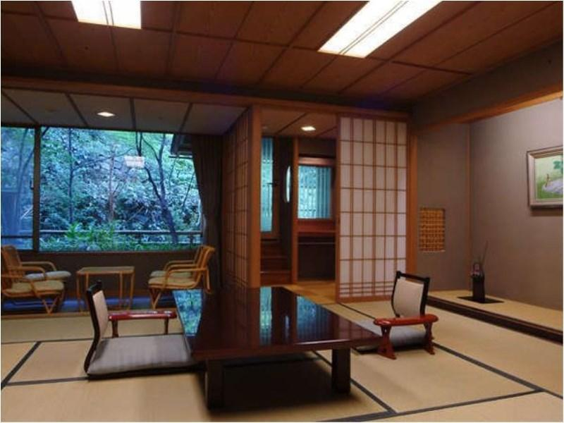 다다미 객실(NIWA-NO-TO/노천탕) (Japanese-style Room with Open-air Bath (Niwa-no-To Wing))