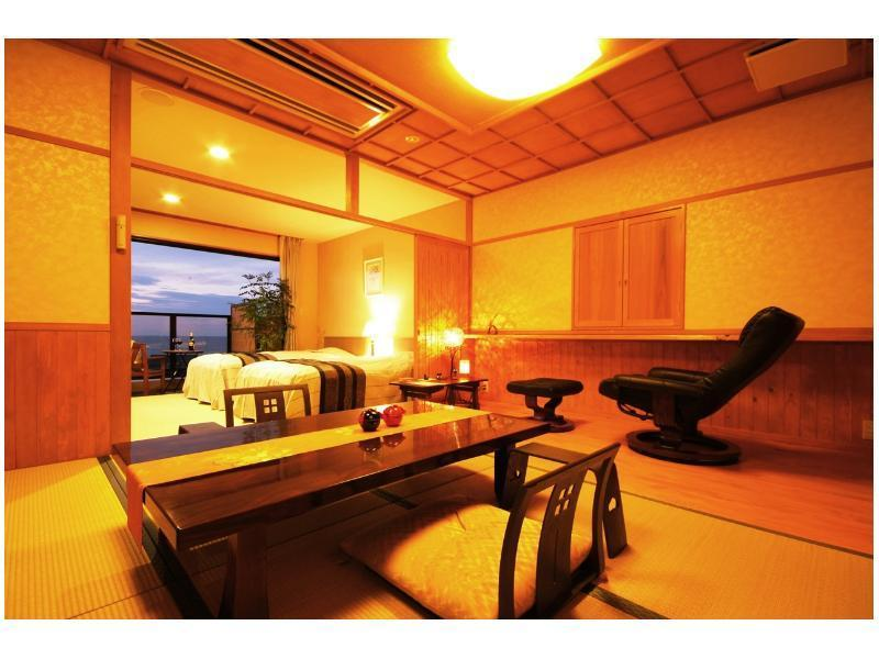 Shoukan 和洋式房+按摩椅+觀景風呂 (Japanese/Western-style Room with Scenic View Bath & Massage Chair (Shokan Type))