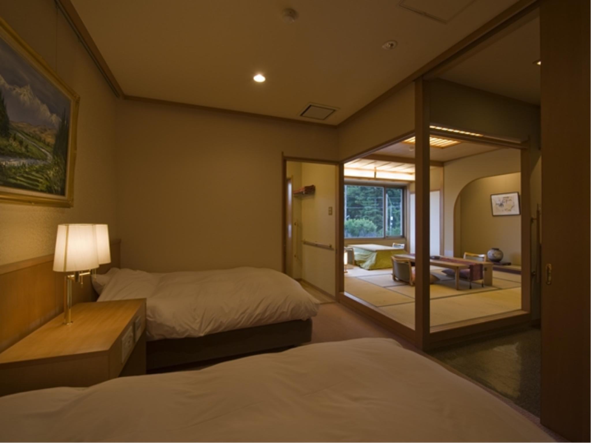 Japanese/Western-style Room with Scenic View Bath (Annex)