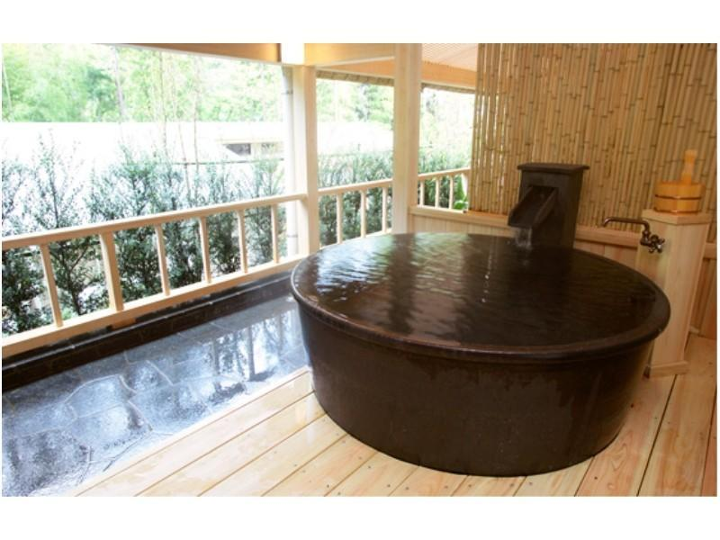 Special Japanese/Western-style Room with Open-air Bath