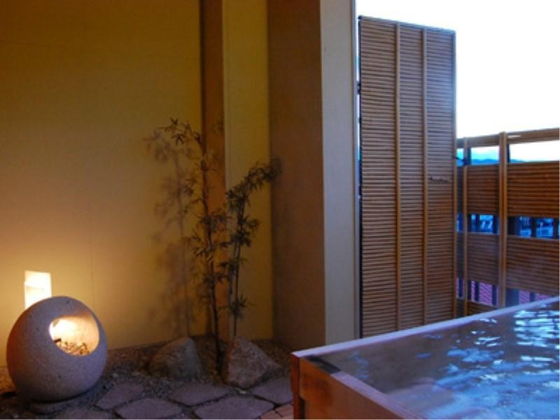 Japanese-style Room with Open-air Bath (10 tatami)