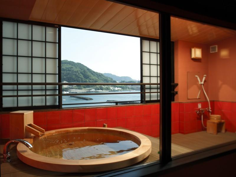 和室12帖+10帖 露天風呂付 (Japanese Style Room with Open-Air Bath)