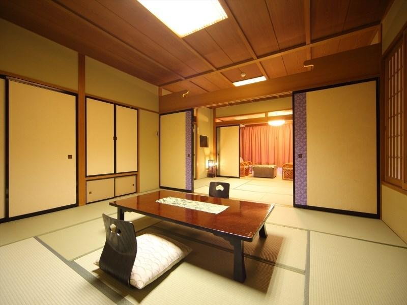 和式房 (Large Japanese-style Room (2 Japanese Beds, Main Building))
