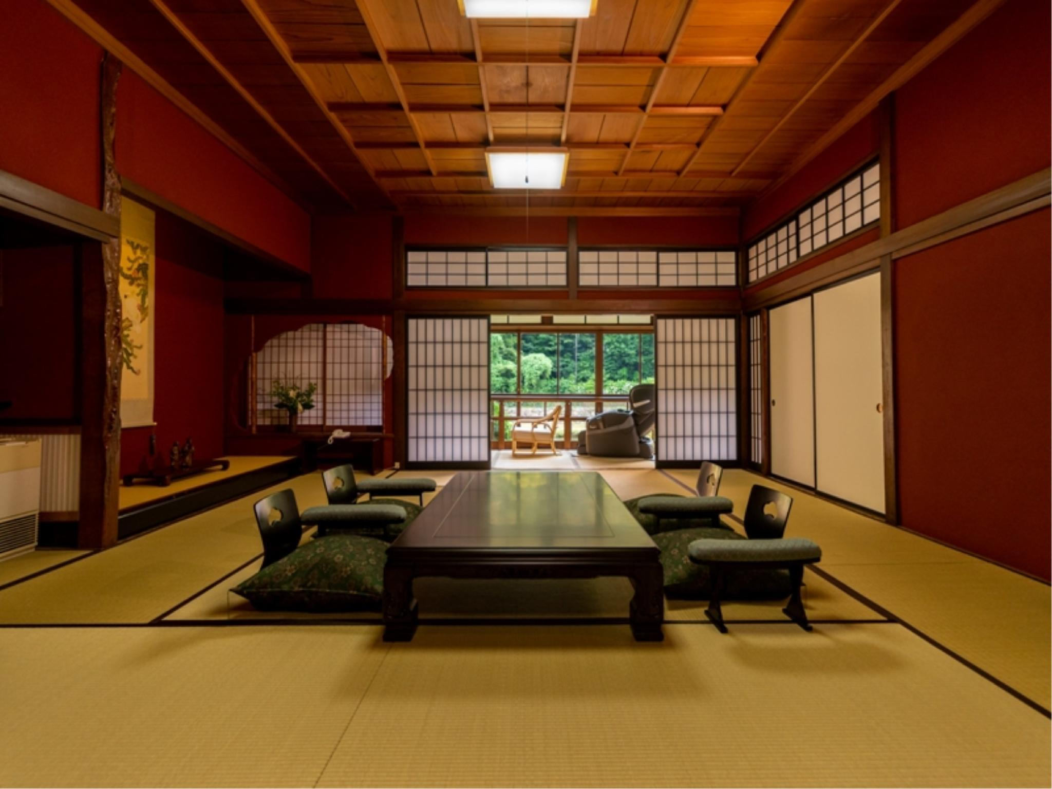 Japanese-style Room with Massage Chair (Kaede-no-Ma Type)
