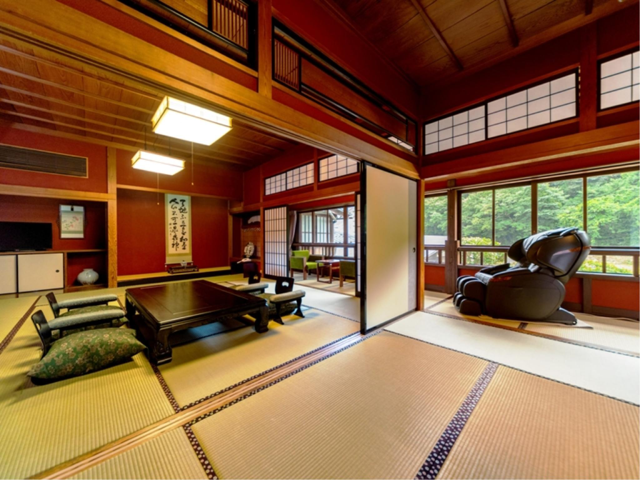 Japanese-style Room with Massage Chair (Hana-no-Ma Type)