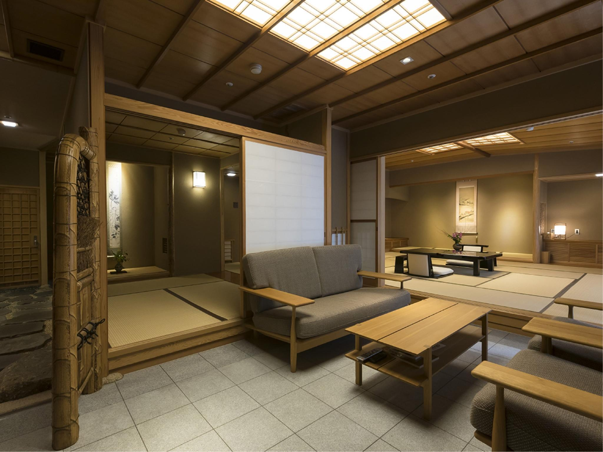 Special Japanese-style Room with Garden & Open-air Bath