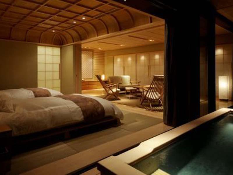 Japanese-style Suite with Semi Open-air Bath