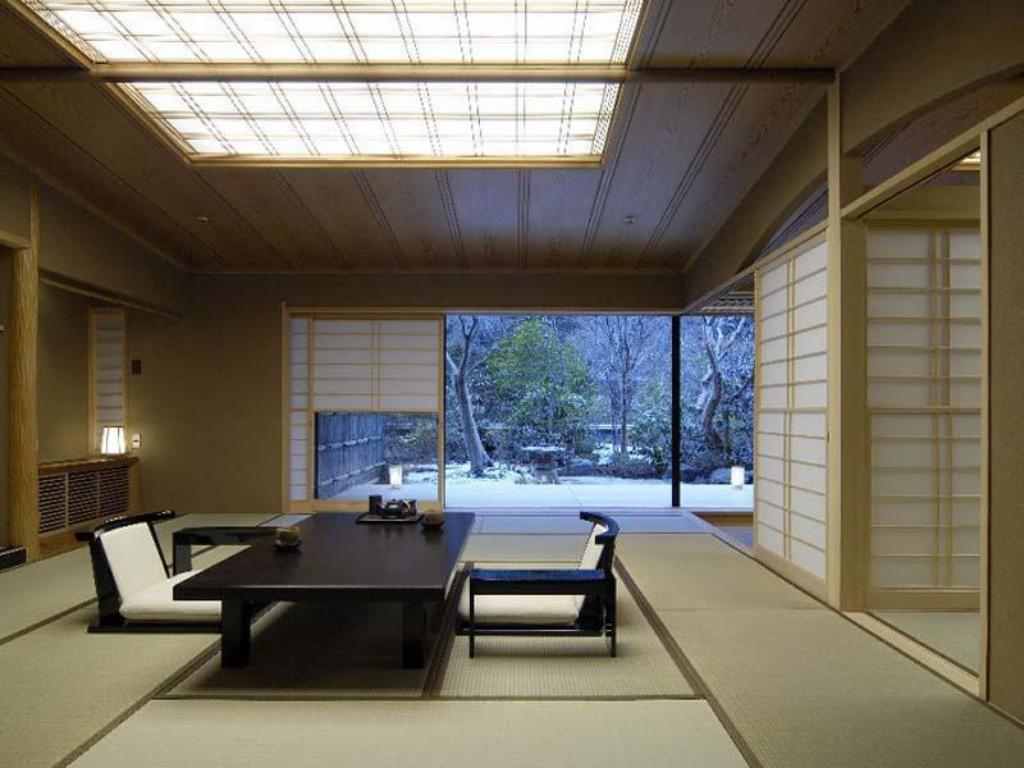 Special Japanese-style Room with Garden & Open-air Bath - ห้องพัก