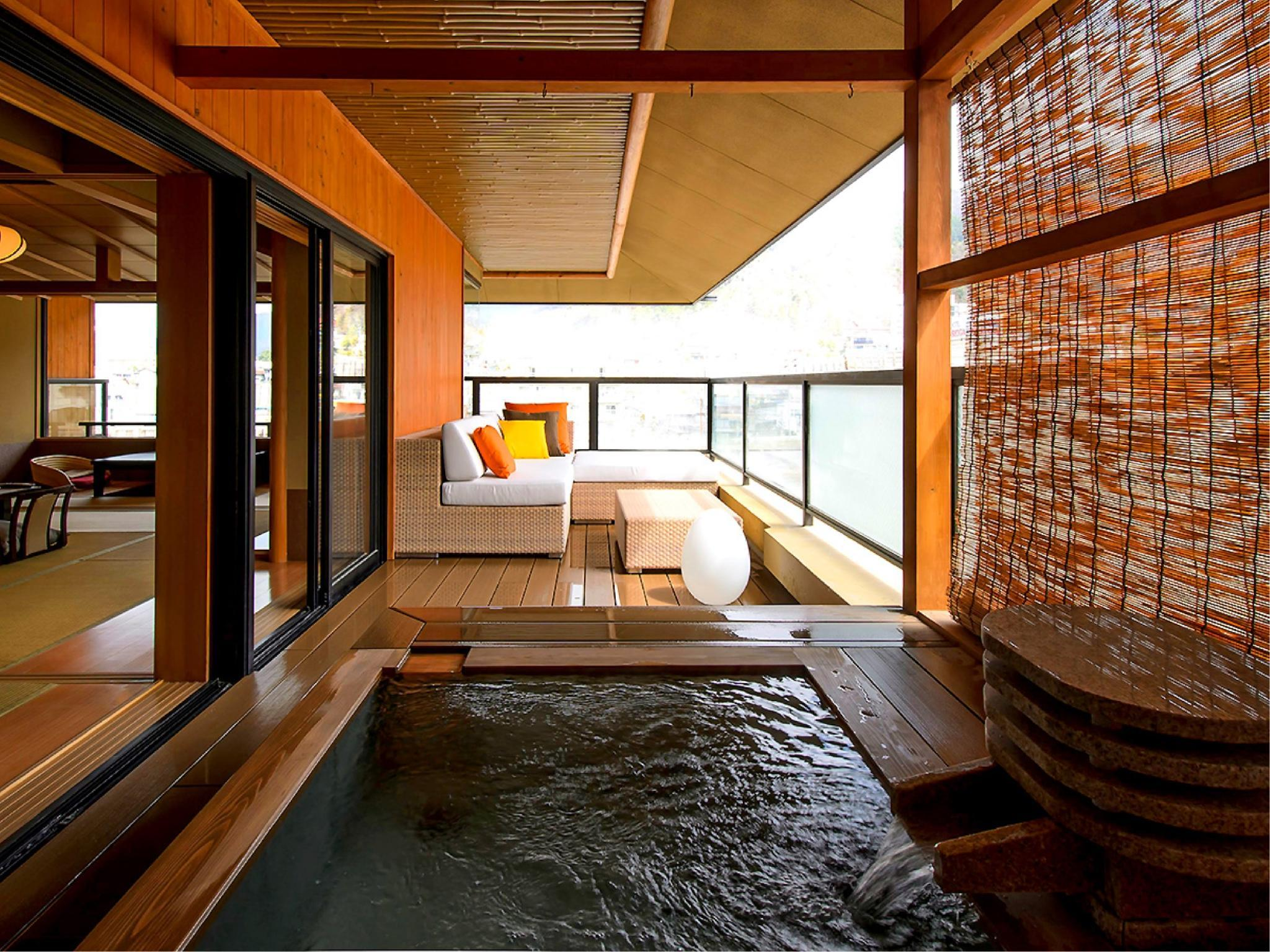 日式客房 - 有露天浴池 (Japanese Style Room with Open-Air Bath)