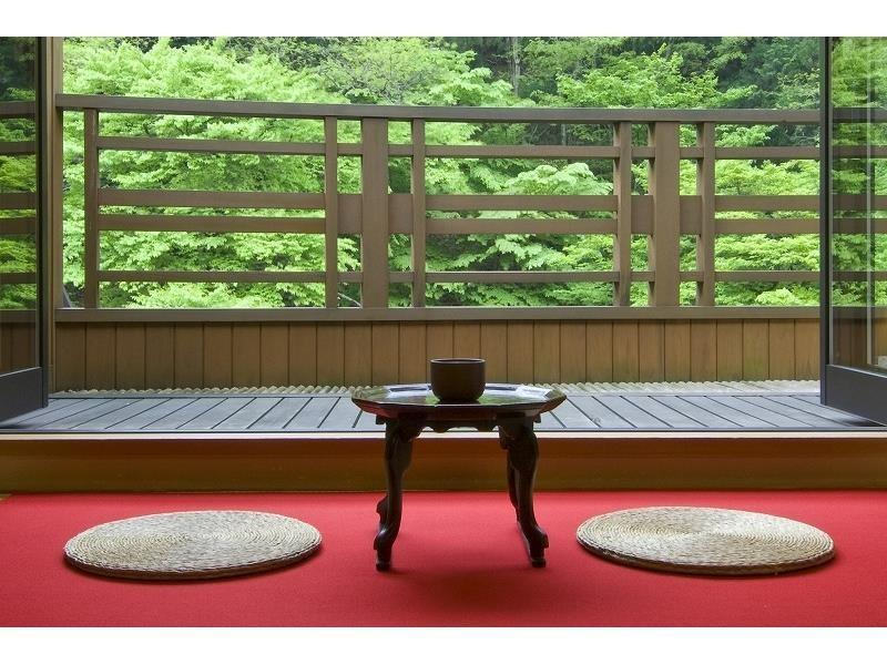 다다미 객실(ODAMAKI・BOTAN/전망테라스) (Japanese-style Room with Scenic View Terrace (Odamaki/Botan Type))