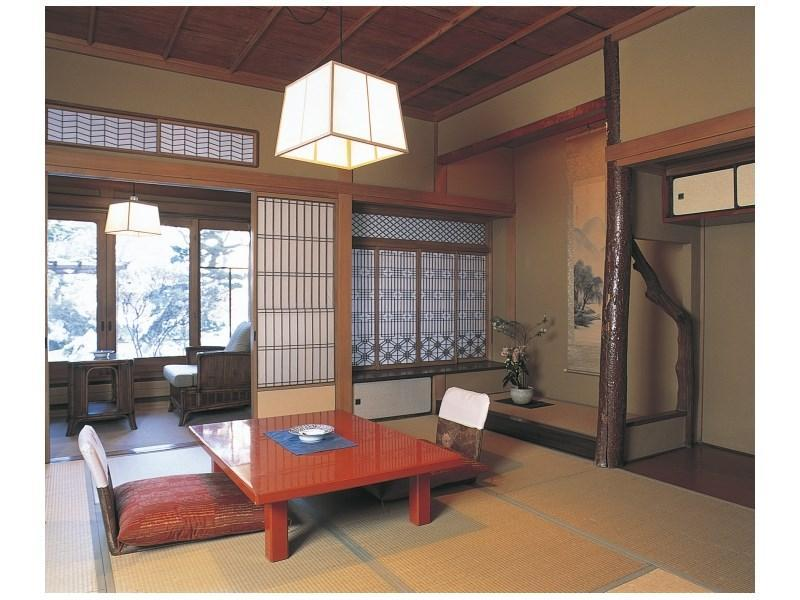 다다미 객실 (Detached Residence Special Japanese-style Room with Cypress Bath)