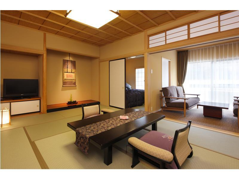 八番館和ベッド2台和室 禁煙 渓谷  (Japanese-style Room (2 Japanese Beds, Hachiban Wing))