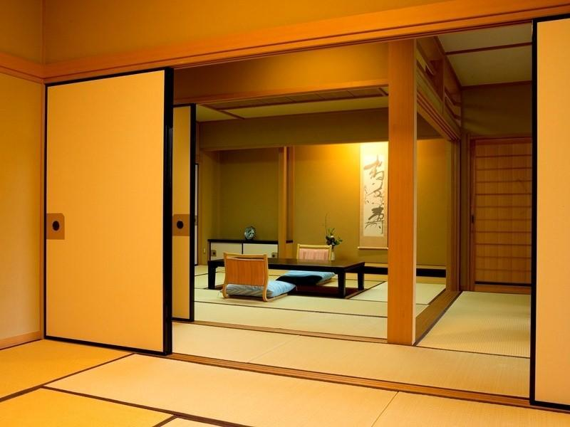 Japanese/Western-style Room (Japanese/Western-style Suite with Open-air Bath (2 Beds))