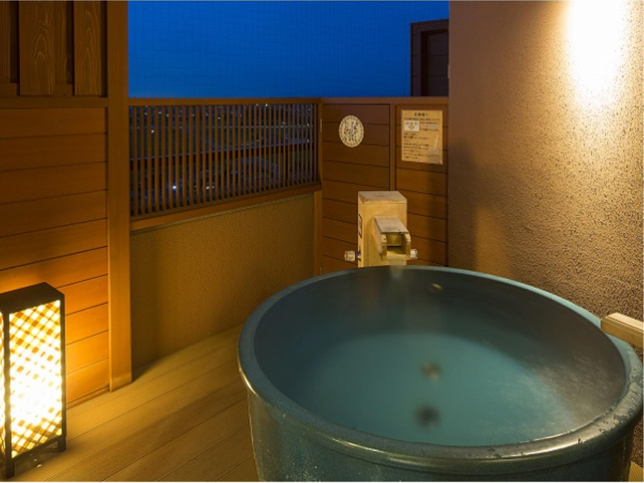 Japanese/Western-style Suite with Open-air Bath (2 Beds, Tensho-no-Yakata Wing)
