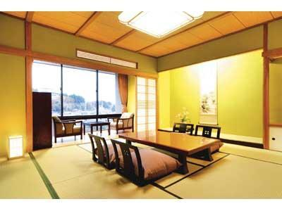 Japanese-style Room with Open-air Bath (Hana Type)