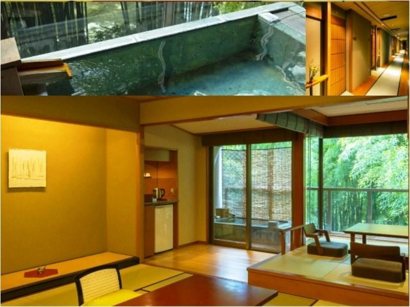 露天風呂+掘り炬燵付和室 |12.5畳+踏込 (Japanese-style Room with Open-air Bath & Horigotatsu)