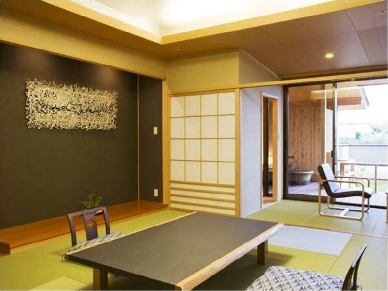 十三之風 和式房+露天風呂 (Japanese-style Room with Open-air Bath (Tomi-no-Kaze Type))