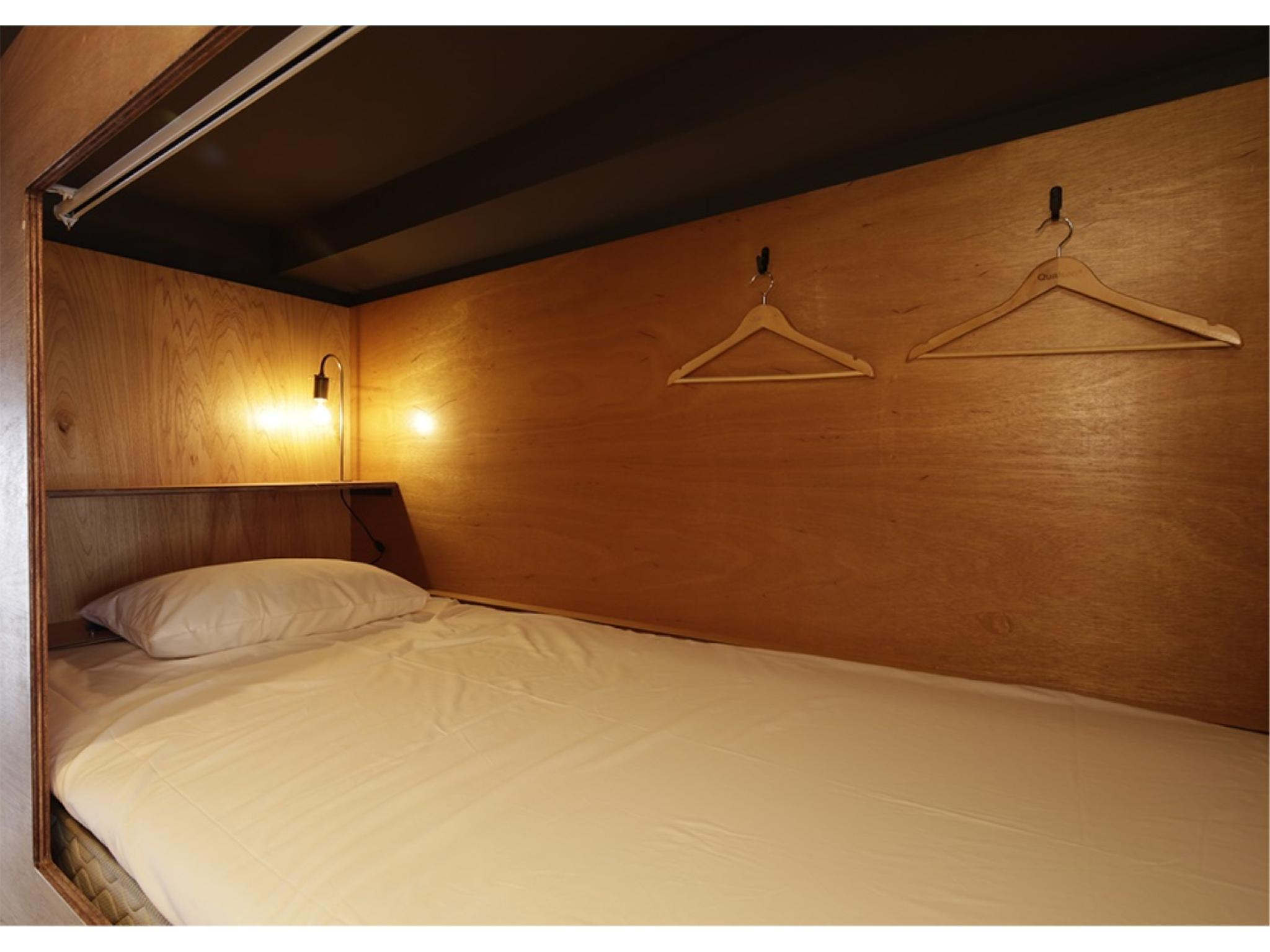 女士合住房(雙層床)※無廁所浴室 (Ladies' Dormitory Room (Bunk Beds) *No bath in room)