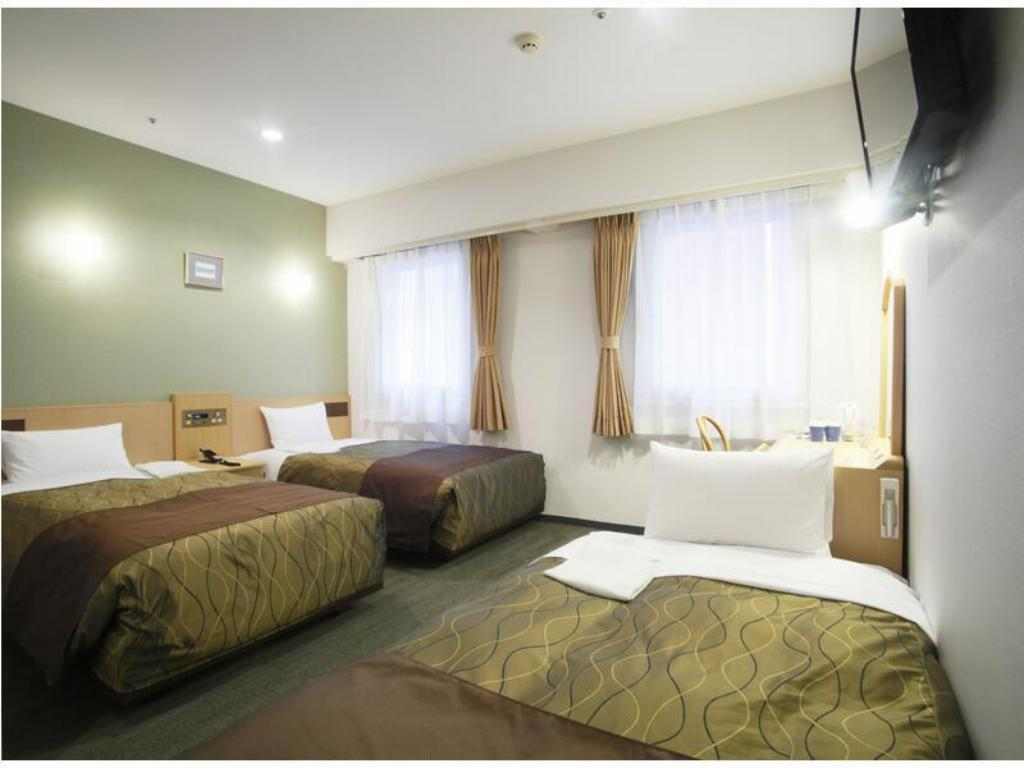 Triple Room (Twin Room + Sofa Bed) - ห้องพัก