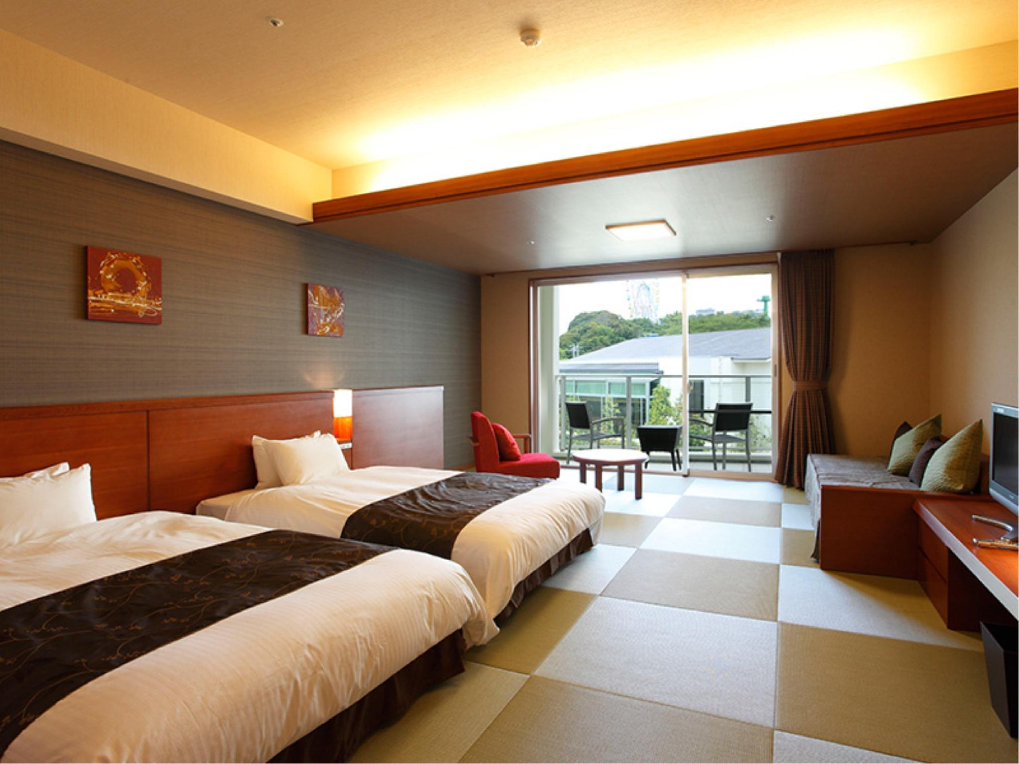 Modern Japanese-style Room (2 Japanese Beds, Garden Court Wing)