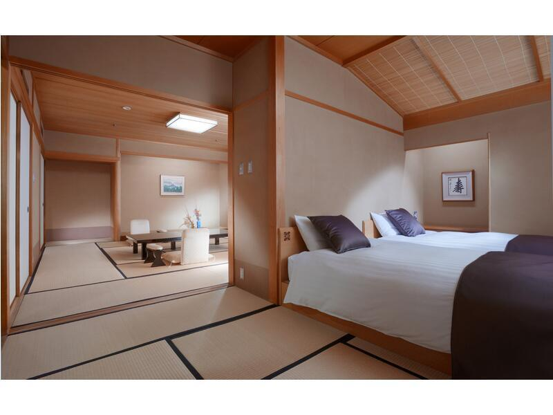 Japanese-style Room with Balcony (2 Beds)