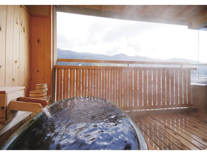 Japanese-style Room with Open-air Bath & Balcony