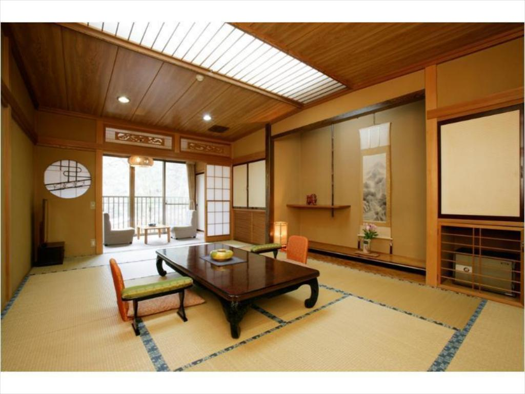 Japanese-style Room with Hiroen Space (Wafu Wing) - Guestroom Yatsugawakan