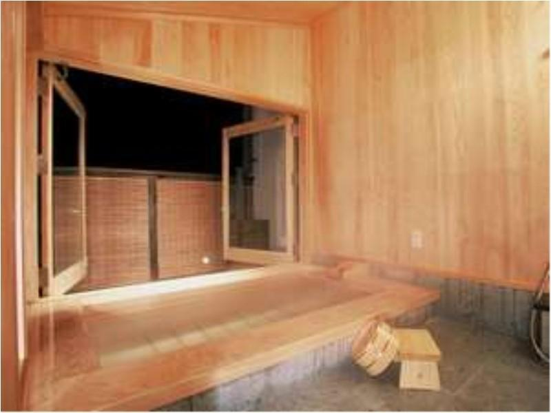 Japanese Western Style Suite with Open-Air Bath
