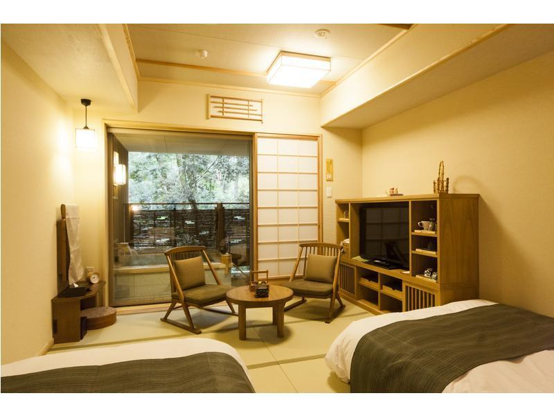 Japanese-style Twin Room (2 Beds, Type A)