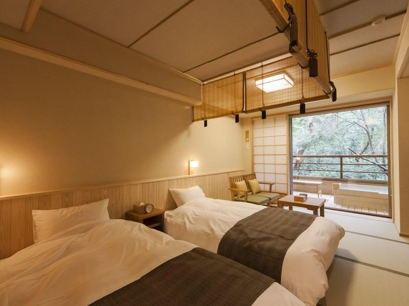 Japanese-style Twin Room (2 Beds, Type C)