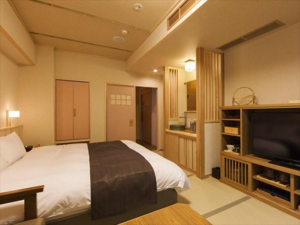 Japanese-style Double Room with Open-air Bath - Guestroom Inishie no Yado Ikyu