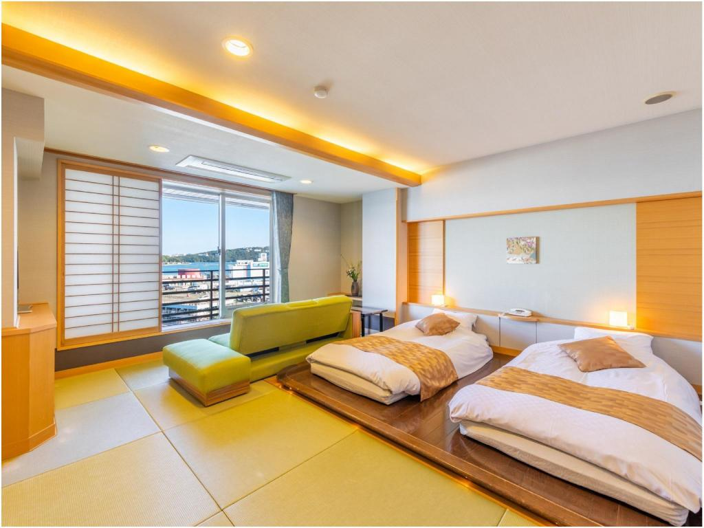 Japanese/Western-style Room (South Wing) - ห้องพัก